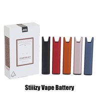 Stiiizy Advanced Delivery System Premium Vaporizer Starter Kit 210mAh Rechargeable Battery Vape Pen Wit USB Cable For Thick Oil Pods