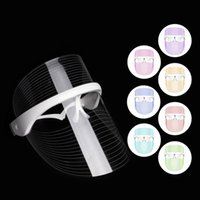 LED Light Beauty Face Mask Instrument 7 Colors Facial SPA Photon Therapy Treatment for Anti Wrinkle Acne Skin Rejuvenation