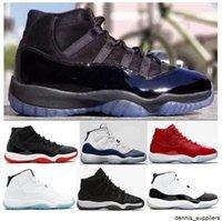 NUEVO 11 11s CAP Y BAJA DE PROM NIGHT Blackout Men BlackOut Menores Zapatos de baloncesto Black Stingray Premium HC Sneakers de alta calidad con zapatos Caja
