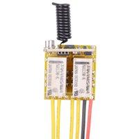 Smart Home Control Mini 2CH Relay Remote Switch DC3.7V 4.2V 5V 6V 7.4V 8.4V 9V 12V Output 0V Dry Contact Switching Value NO COM NC 315 433