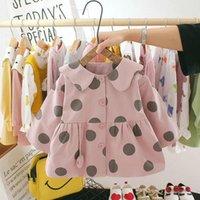 Girl's Dresses Bear Leader Infant Baby Girls Polka Dot Fashion Spring Autumn Born Casual Full Sleeve Vestidos Toddler Sweet Clothes