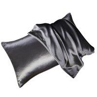 Faroot Silk Cetim Fronha de Cabelo Silky Silky Beleza Caso de Almofada de Luxo Capa Para Cama