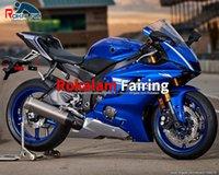 Blue Fourtings Kit für YZF R6 YZF-R6 2017 2018 2019 2020 YZF600R R6 YZF 600R 17-20 Rennradkörperabdeckungen (Spritzgießen)