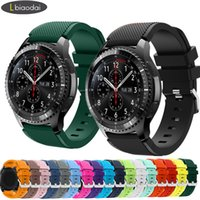 20mm 22mm watch strap for Samsung Galaxy 3 45mm 42mm Active-2 Gear S3 Frontier silicon bracelet Huawei GT 2 2e 46 mm