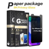 Privacy Screen Protector For iPhone 13 12 mini 11 Pro Xs Max X XR 7 8 Plus Tempered Glass