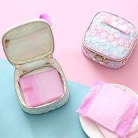 Storage Boxes & Bins Girl Tampon Bag Female Sanitary Napkin Packaging Ladies Cosmetic