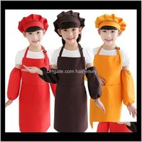 Taschenhandwerk Kochen Backen Kunst Malerei Küche Essen BIB Kinder Kinder Schürzen 10 Farben PDCQE PBRDQ