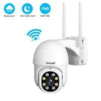 QZT PTZ IP Camera WIFI Outdoor 360 Night Vision CCTV Camera Video Surveillance Waterproof Sricam Home Security Camera Outdoor