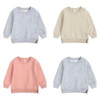 Autumn Kids Sweatshirts Long Sleeve Kid Pullover Sweater Cute Casual children Hoodies M3855