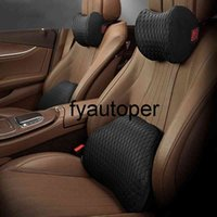 Car Neck Pillow Car Headrest Lumbar Support Automobiles Seat Headrest Car Cushion Travel Pillow for Driver Chair Auto Headrest