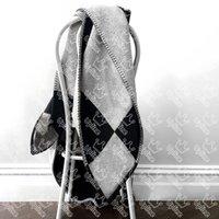 عصرية الصوف بطانية إلكتروني مصمم لينة الدافئة الجاكار رمي البطانيات الكبار المحمولة أريكة السيارات شال