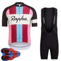 Rapha equipe homens ciclismo jersey conjunto verão bicicleta uniforme rápido seco mountain bike roupas de manga curta camisas bib shorts terno s21040627