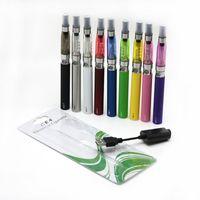 E-cigarettkit EGO-T BATTERI CE4 Clearomizer 1.6ml med Ego USB-laddare 650mAh 900mAh 1100mAh 10 färger tillgängliga