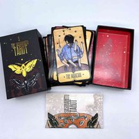 The Sasuraibito Tarot 78 Card Deck and 63-page guidebook Original Divination Gilt edge beautiful sturdy lidded box featuring
