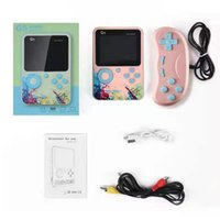 Portable Mini Handheld Video Game Console 8-Bit 3.0 Inch Color LCD Kids Color Game Player Built-in 500 games Double Gamepad