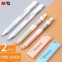 Niedlicher Luftkissengriff Mechanischer Bleistift 0,5mm / 0,7mm Kawaii Kunststoff Automatische Bleistifte für Schulbüro Liefert Schreibwaren