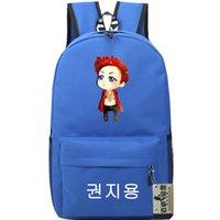 G التنين حقيبة الظهر الهيب هوب daypack كوريا ستار gd schoolbag الموسيقى حقيبة الرياضة حقيبة مدرسية في الهواء الطلق حزمة