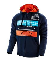 Motocross sweater, team zipper sweatshirt, outdoor sports cycling jacket, racing hooded sweater