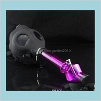Smoking Pipes Accessories Household Sundries Home & Garden Wholesale 2016 Bongs Gas Mask Water Sealed Acrylic Hookah Pipe Filter Drop
