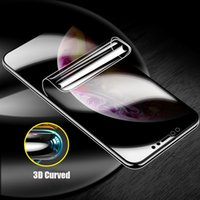 Protectors 3D Curved Privacy Anti Glare Hydrogel Film for iPhone 12 11 Pro Max Aanti Spy Screen Protector fit XR XS 7PLUS 8PLUS