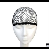 Aessories Tools Productstop Sale Good Quality Mesh Black Hair Net Making Caps Weaving Wig Cap & Hairnets Drop Delivery 2021 Odq4W