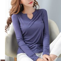 Women's Sweaters Button shirt with v-neck cleavage, high elasticity, white cotton, black female shirt, women's clothes, summer, long sleeve, G46G