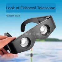 Binocolo da pesca per occhiali da vista all'aperto Visione notturna HD 10 Km Guarda la lente di ingrandimento per Bobblehead per