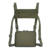 Sacos ao ar livre sacos de escalada mochila militar ombro 1000d nylon caminhadas camping camuflagem thatical peito