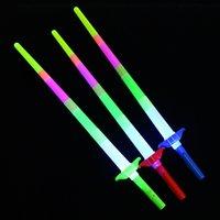 Four Bares Los juguetes emisores de emisión ligeros de cuatro barras Telescópicos de emisión de luz de emisión fluorescente de la varilla LED Flash Colorful Fabricantes