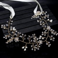 Hair Clips & Barrettes Gorgeous Rhinestone Crystal Accessories Wedding Bridal Band Tiaras Belts ET