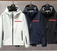 남성 자켓 긴 소매 인쇄 편지 스타일 코트 고품질 탑스닝 방풍 캐주얼 봄과 가을 의류 디자인 의류 까마귀