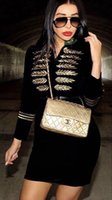 Women's Trench Coats Sale Fashion Women Sexy Long Sleeve Black Thick Rayon Bandage Coat 2021 Elegant Designer Outwear Jacket