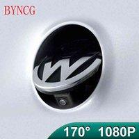 BYNCG 170°AHD 1080Pバッジフリップエンブレム背面図のカメラ用VWゴルフポロCCビートルMagotan B6 B7L B8 EOS T-ROC Passat R CAR