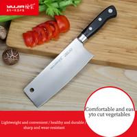 Couteau de cuisine Femme Couteau Titane enduit de ménage en tranches en acier inoxydable Chef