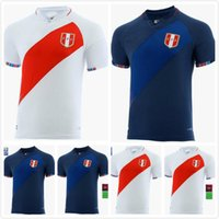 2021 2022 Peru Futbol Forması Ulusal Takım Üniformaları Eve Away Cueva Carrillo Abram Futbol Gömlek Tapia Yotun Lapadula Camiseta de Hayranlar 20/21