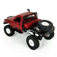 2020 New Arrival 1:16 WPL C14 Scale 2.4G 4CH Mini Off-road RC Semi-truck RTR Kids Climb Truck Toy for Children H1013