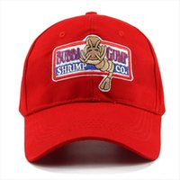 Forrest Gump Recover Cosplay Running Baseball Snapback Caps Women Men Bubba Sport Outdoor Cotton Red Black Hat