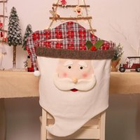 Chair Covers Christmas Cover Exquisite Light And Soft Home Table Decorations Gifts