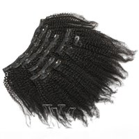 4A 4B 4C AFRO KINKY Hair Wive Extensions 유행 부드러운 부드러운 부드러운 부드러운 100 % 자연 블랙 브라질 버진 인간의 머리카락