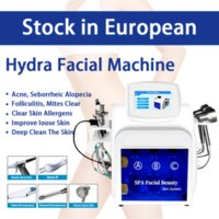 Portable Hydra Microdermabrasion Peel Facial Hydrafacial Device Oxygen Spray Hydro Water Care Spain In Stock