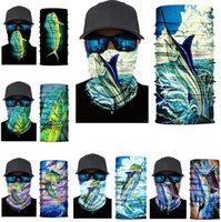 Half face series Skull Headband autumn and winter party masks protection magic scarf warm sports riding elastic Halloween mask ZC438
