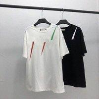 20SS Männer T-shirt Designer Buchstaben Print Crew Hals Casual Summer Atmungsaktive Herren Womens T-Shirts Solide Farbe Tops Tees Großhandel v9ua #