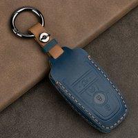 Ключ кошельки сумасшедшие конные ключи для Ford Mustang Ecosport Smart Remote FOB Shell Cover Bag Car Accessorics