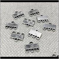 Beauchamp Vintage Anhänger Kautschläuche Halskette Enden Stecker Links Metall Charms Armband Perlen Spacer Clacs Schmuck Fundungen Wmtuds DT9XK RMUY4