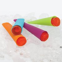 300 adet 15 cm Silikon Push Up Dondurulmuş Sopa Dondurma Pop Yoğurt Jöle Lolly Maker Silikon Kalıp HWE9753