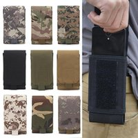 Cell Phone Mounts & Holders Outdoor Camouflage Waist Bag Tactical Army Holder Sport Belt Case Waterproof Nylon Hunting Camo Bags In Backpack