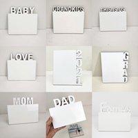 الفراغات التسامي لوحة الصور الإنجليزية الأبجدية ديي ألبوم الصور ديكورات المنزل الحب / أمي / الأسرة / 2021 إطارات التسامي