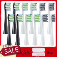 10pcs / set Sostituzione Denti da denti Teste per OCLEAN X / ZI / One / F1 Elettrico Elettrico Adatto Sostituire Smart Brush Brush Brush