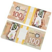 Оптовые игры деньги оперируют копию канадских долларов CAD банкноты бумаги поддельных евро фильма реквизит