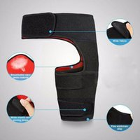 Elbow & Knee Pads Fitness Leggings Groin Belt Anti-muscle Weightlifting Sports Thigh Strain Gear Hip Protective I3n5